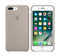 Оригинальный Силиконовый чехол Apple / Original iPhone 7 Plus Silicone case Pebble (MQ0P2) Новая коллекция