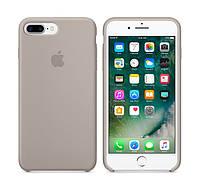 Силиконовый чехол Apple iPhone 7 Plus / 8 Plus Silicone case Pebble (MQ0P2) Новая коллекция, фото 1