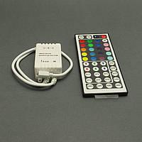 Контроллер светодиодной ленты RGB 6A, пульт на 44 кнопки, инфракрасный, фото 1