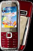 "Китайский Nokia E71, дисплей 2.2"", 3 SIM, ТВ, Java, FM-радио."
