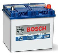 Аккумуляторы Bosch S4 ASIA 60Ah пусковой ток 540A
