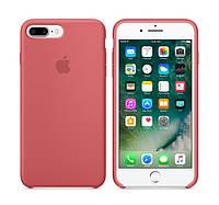 Оригинальный Силиконовый чехол Apple / Original iPhone 7 Plus Silicone case Camellia (MQ0N2) Новая коллекция