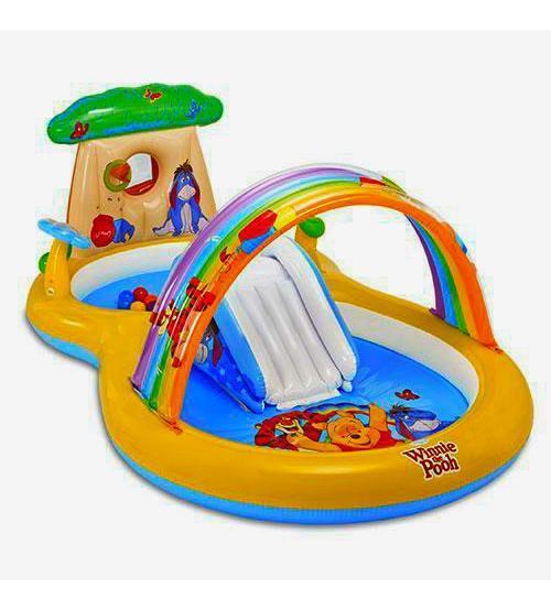 Игровые центры надувные водные