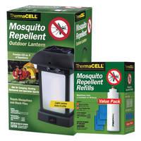 Фонарь ThermaCELL от комаров с расходниками 15 пластин MR-9L