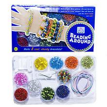 Набор для плетения Бисером, Детский, в наборе: бисер(Чехия)+резинки, (УТ0012594)