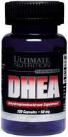 Стероидный бустер тестостерона DHEA 25mg Ultimate Nutrition 100 кап