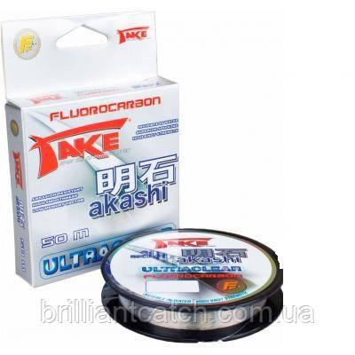Леска Lineaeffe Take AKASHI Fluorocarbon  50м. 0.50мм  FishTest 29.00кг  Made in Japan