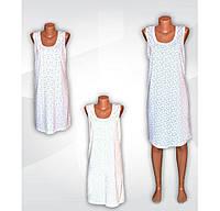 Ночная рубашка трикотажная женская больших размеров, р.р.48-68