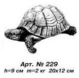 Фигуры животных «Черепаха» малая 20х12 см, Н=9 см