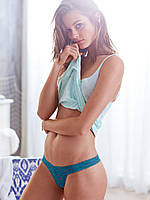 Трусики Victoria's Secret Thong, Deep Laguna J23