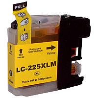 Струйный картридж WOX для Brother LC 225Y  LC225XLY
