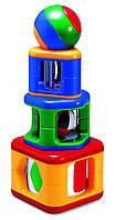 Развивающая игрушка пирамидка с шаром, Tolo