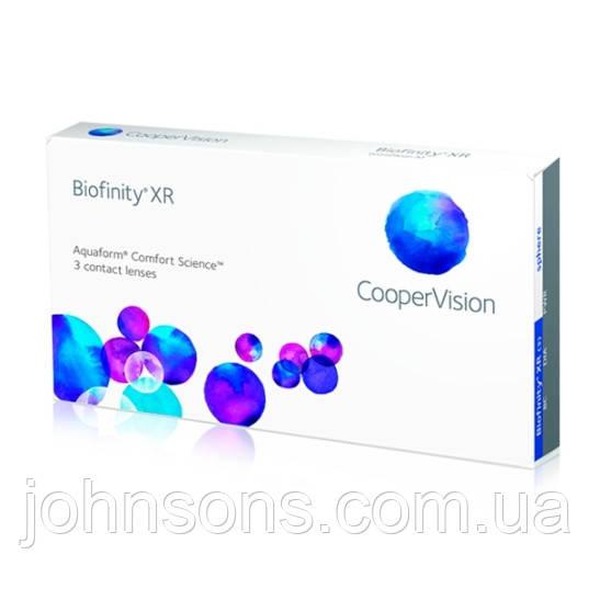Контактные линзы Biofinity XR 1уп(3шт)