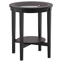 MALMSTA Придиванный столик, черно-коричневый