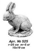 Фигуры животных «Заяц» 15х19 см, Н=25 см