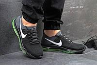Мужские кроссовки Nike Zoom All Out, текстильная сетка, черные с серым  / кроссовки мужские Найк Зум Ол Аут