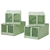 SKUBB Коробка для обуви, светло-зеленый