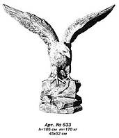Фигуры животных «Орел» большой 45х52 см, Н=105 см