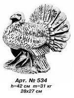 Фигуры животных «Индюк» 28х27 см, Н=42 см