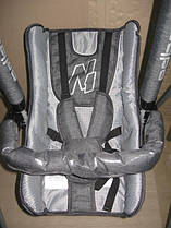 Детские качели 3 в 1 Adbor №1 со столиком серый