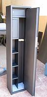 Сейф Оружейный Усиленный СО 1470У/2ТТП для хранения Двух Ружей высотой до 1300 мм с двумя трейзерами