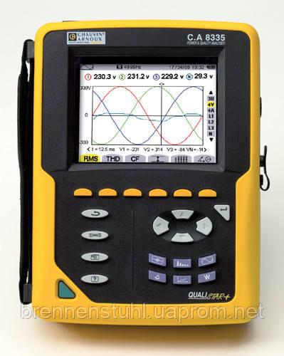 CA 8335 Анализатор качества электроэнергии - EnergyTools электротехника и электроника для профессионалов в Харькове