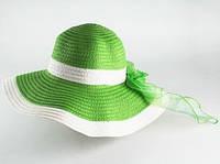 Шляпа  летняя соломенная Лагже
