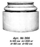 Колонны База колонны D=80 см, D=60 см, Н=60 см