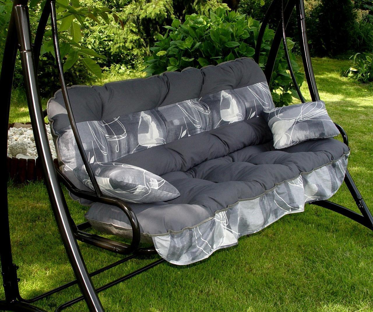 Подушки,матрасы для садовых качель Wst.Grey 175 см.