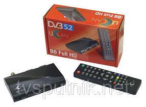 Спутниковый тюнер U2C B6 (uClan B6)  (SAT+IPTV) прошитый с каналами