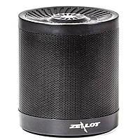 Компактная мини колонка BL ZEALOT S5 черная беспроводная портативная bluetooth USB AUX microSD speaker