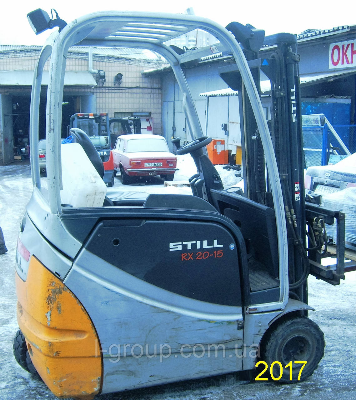 Оренда електронавантажувача Still RX20-15