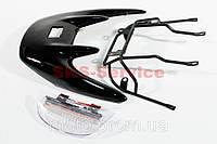 Спойлер крепление и фонарь спойлера  комплект на скутер Honda DIO AF-35