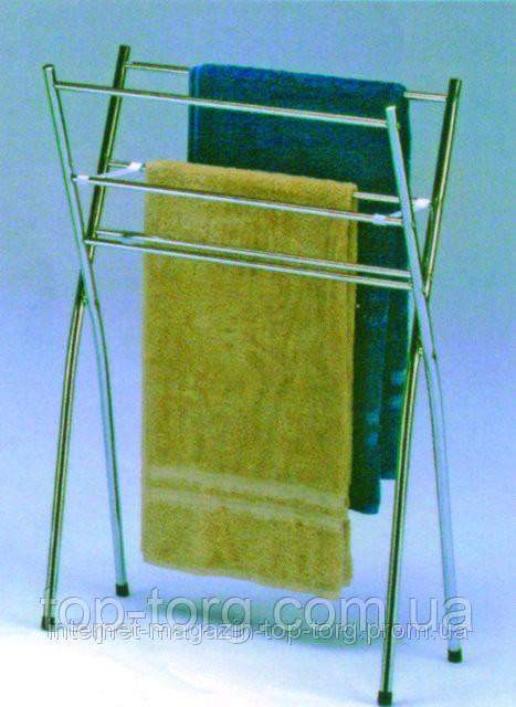 Держатель для полотенец напольный BS-1241 / полотенцедержатель / вешалка напольная для полотенец