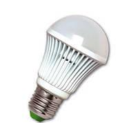 Лампа светодиодная Eurolamp LED-A60-10W/4100(alum) 70 Вт