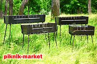 Мангалы из высококачественной стали 2мм для дачи, пикника разборные тм Вакула
