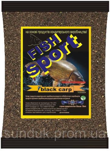 "Прикормка Fish Sport ""Черный карп"""