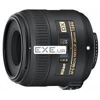 Объектив Nikon Nikkor AF-S 40mm f/ 2.8G micro DX (JAA638DA)