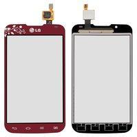 Сенсорный экран для мобильного телефона LG P715 Optimus L7 II, красный