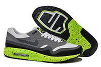 Кроссовки Nike Air Max 1 Lunar Moon Technology Dark Grey White Black Green