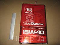 Масло моторное Wolver  Super Dynamic SAE 15W-40 API SJ/CF-4 (Канистра 4л)