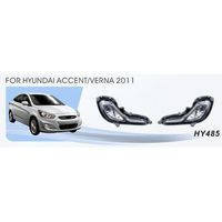 Фары доп.модель Hyundai Accent/Verna 2011/HY-485W/эл.проводка