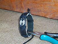 Женский кожаный браслет ЗАМОК ручная работа