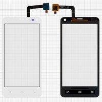 Сенсорный экран для мобильного телефона Fly IQ4416, белый