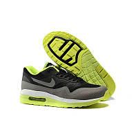 Кроссовки Nike Air Max 1 Lunar Grey Yellow