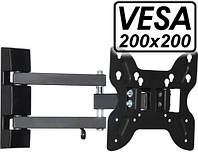 "Крепление для телевизора, монитора 14""- 37"" (max 25 кг.) TVQ-10S"