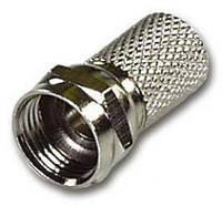 Разъем F-connector RG-6U 20 мм / 7.0 мм