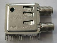 Запчасть тюнера СВЧ-блок (селектор каналов) S7VZ20502A SHARP к тюнерам 4100