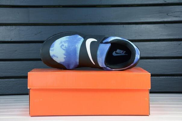 Nike Free Run Sock Fly Black Blue
