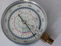 Манометр низкого давления P&M  RG2470L-80  ( R-22, 134А, 410А, 407С  )